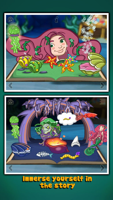 The Little Mermaid ~ 3D Interactive Pop-up Book Screenshots