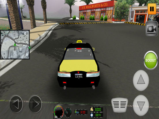 Taxi Simulator 2017: City Car Driving screenshot 9