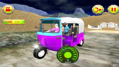 Xtreme Drive Tuk Tuk Rickshaw screenshot 3