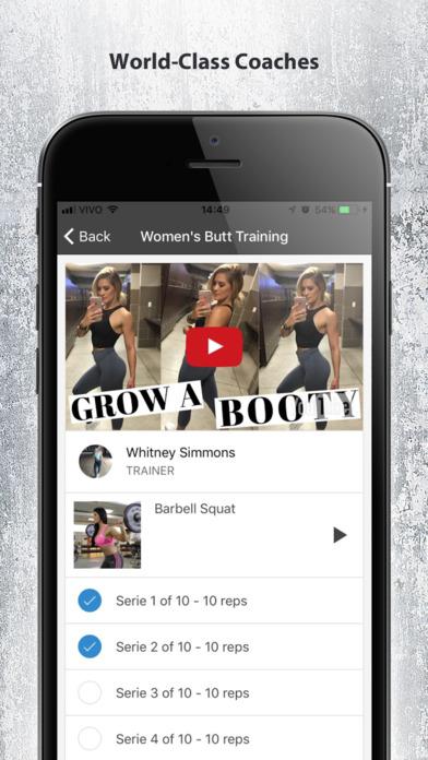 Gym Guide - Workout Tutorial Screenshots