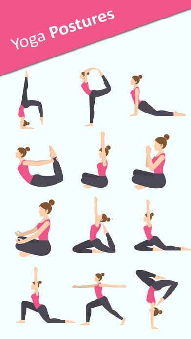Yoga Sticker Pack - BodyBuilder,Meditation Sticker screenshot 1