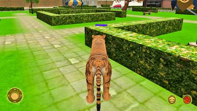 Wild Tiger Beast City Attack screenshot 3