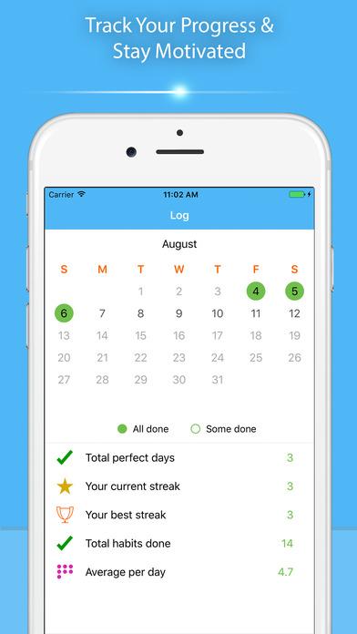 Habit Deluxe : Habit Tracker screenshot