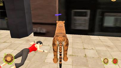 Wild Tiger Beast City Attack screenshot 2