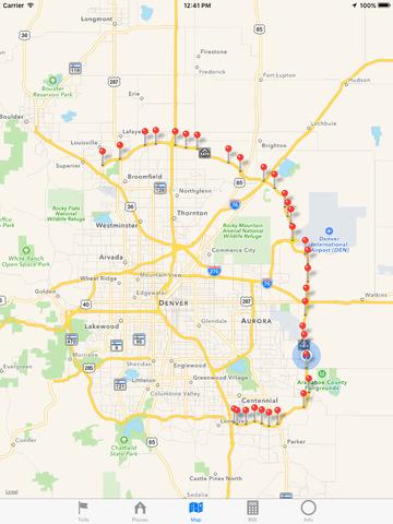 E 470 Toll Map 2016. E. Free Download World Maps