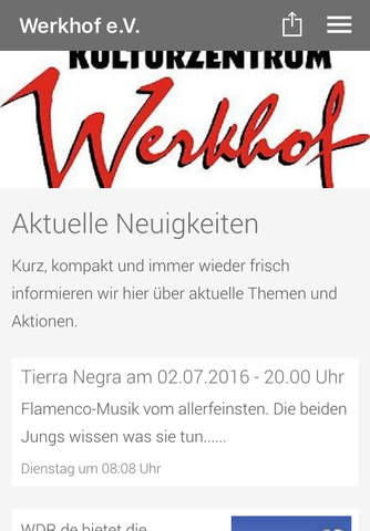 Werkhof Kulturzentrum screenshot 1