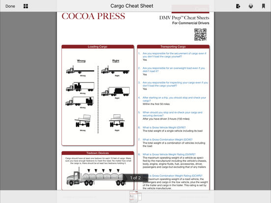 CDL Test Prep Pro (Commercial Driver's License) iPad Screenshot 5