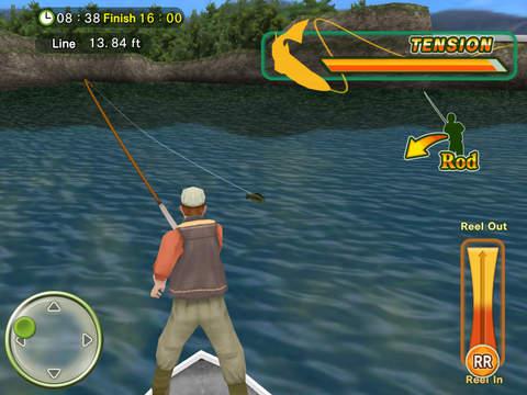 Fly Fishing 3D HD Free iPad Screenshot 4