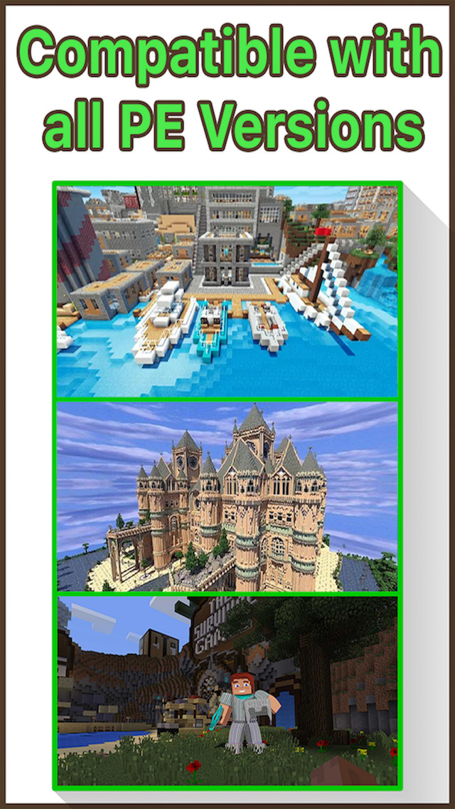 mcpe modded maps download