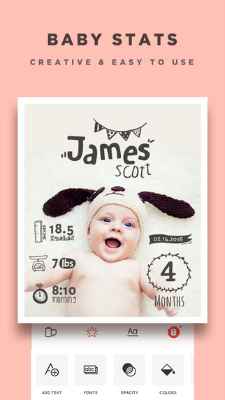 Baby Story - Pregnancy Pics & Baby Milestones Photo Screenshots