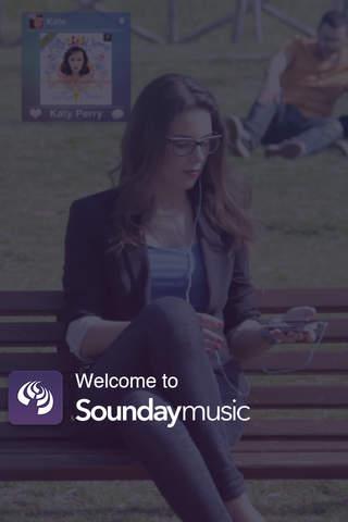 SoundayMusic screenshot 1