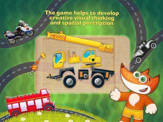 Tim the Fox - Puzzle - free preschool puzzle game