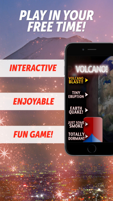 Volcano! iPhone Screenshot 1