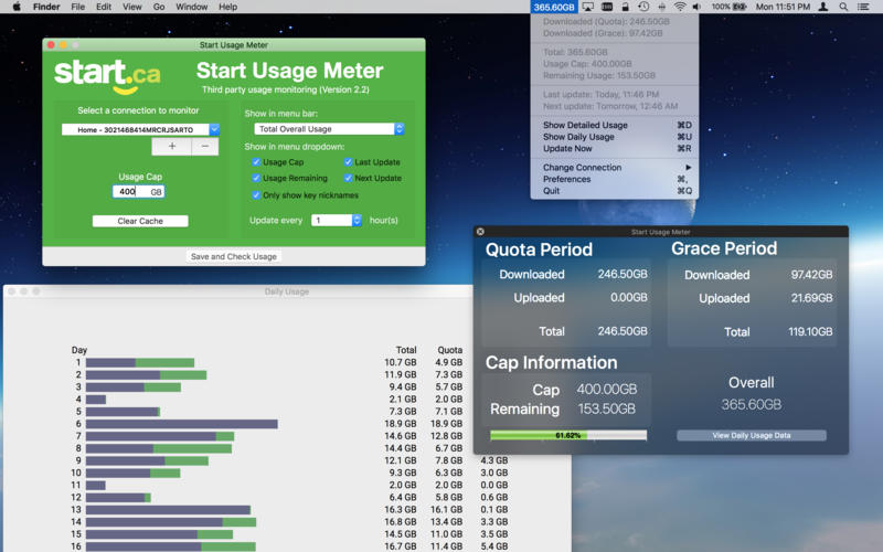 Start Usage Meter Screenshot - 1