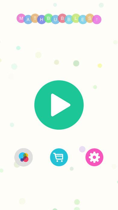 Ruzzle MathBubbles! - The Math Skill Word Search Brain Games Screenshot