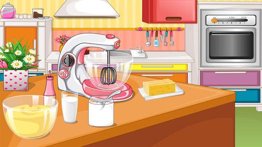 Приготовление вкусный торт 3 - - Детские кондитерские / Вест-Пойнт Masters Screenshot