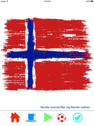 Norske nyheter og Norske radioer Screenshots