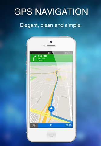 Brandenburg, Germany Offline GPS Navigation & Maps screenshot 3