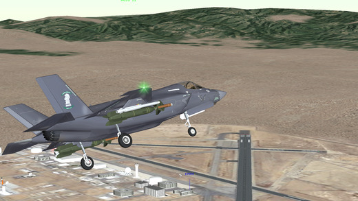 Special Air Wing - Flight Simulator Screenshot