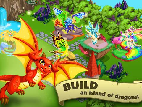 Screenshots of Dragon Story™ for iPad