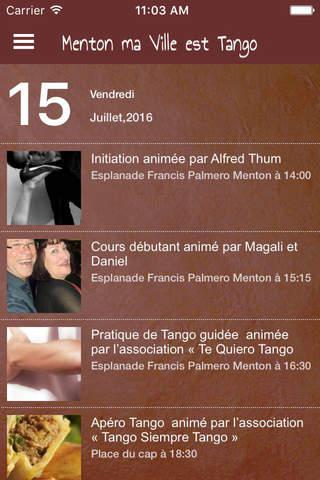 Tango Menton screenshot 3
