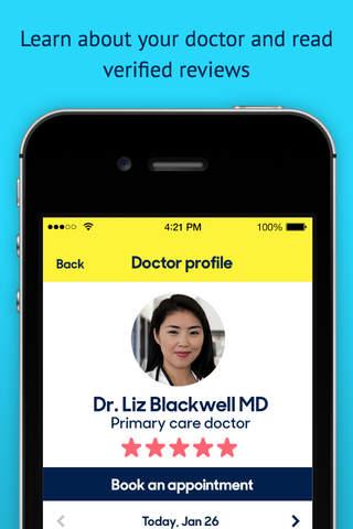 Zocdoc: Find & Book Doctors screenshot 4