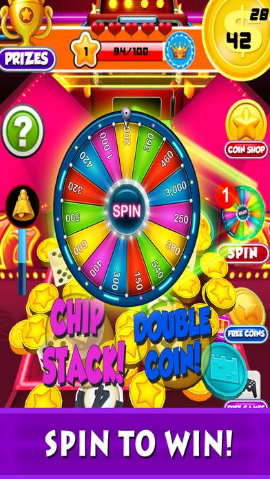 Screenshot 3 Монета бульдозер казино: Голден Слоты Монеты Толкатель автомат и удачливы вращение колеса Игры