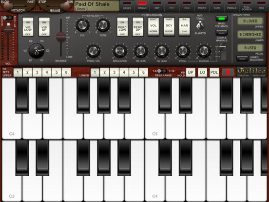 Screenshot #3 for Galileo Organ