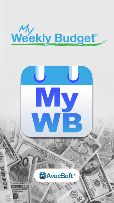 My Weekly Budget - MyWB screenshot