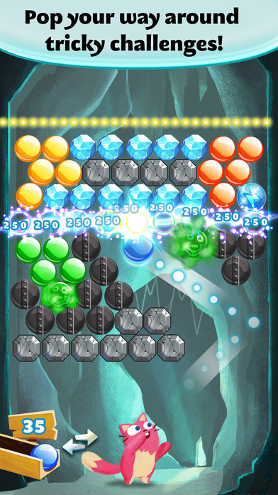 Screenshots of Bubble Mania™ for iPhone