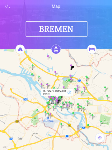 bremen tourism guide on the app store. Black Bedroom Furniture Sets. Home Design Ideas
