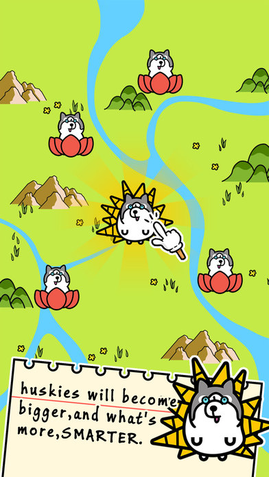 Husky Evolution - Tap Coins of the Crazy Mutant Simulator Idle Game-1