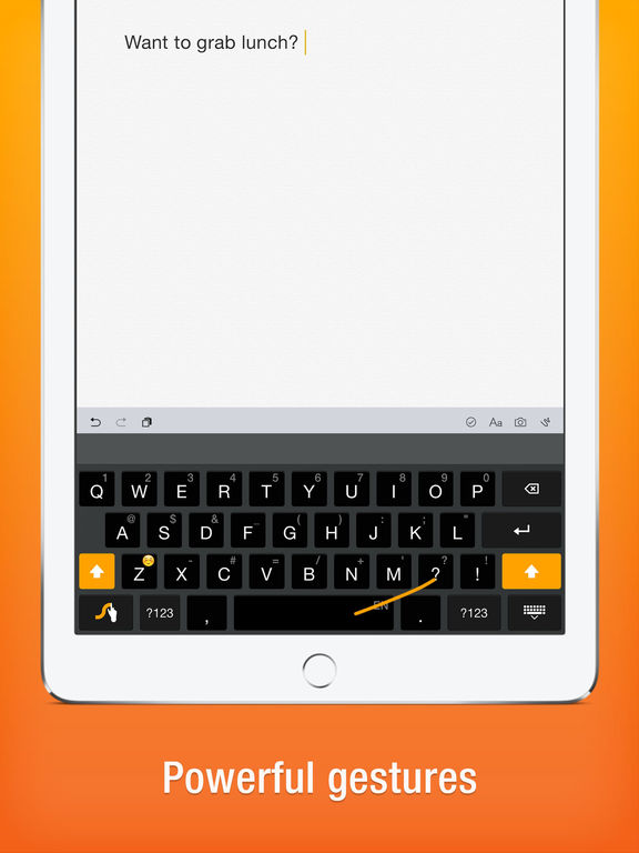 Swype Screenshots