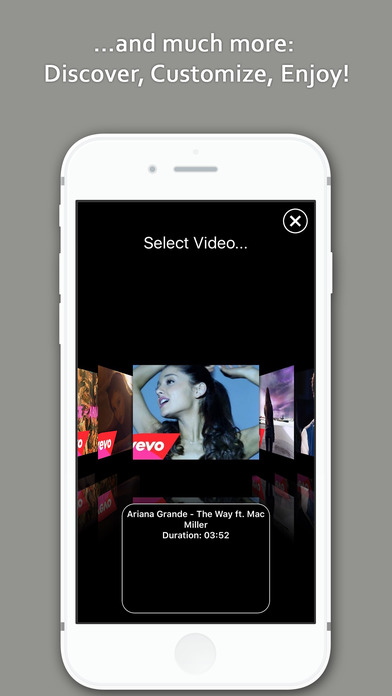 Screenshots of Music TV - Free streamer & player for your songs (for YouTube)! for iPhone