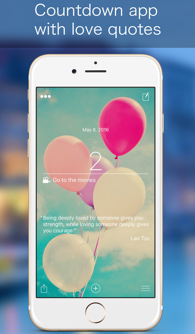 app shopper 365 countdown with love quotes app