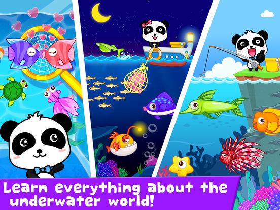 Happy Fishing: Game for children iPad Screenshot 4