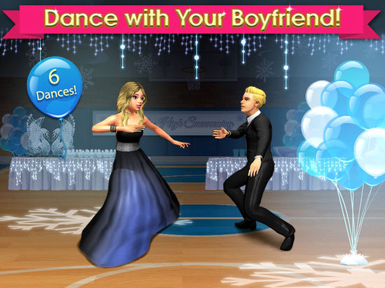 High School Life - Flirt, Dress Up, Date & Dance для iPad