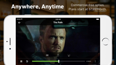Screenshots of Hulu: Watch latest episodes of your favorite hit TV Shows, stream kids movies & comedy films for iPhone