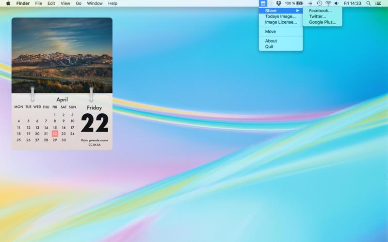 Photo Calendar Nature 앱스토어 스크린샷