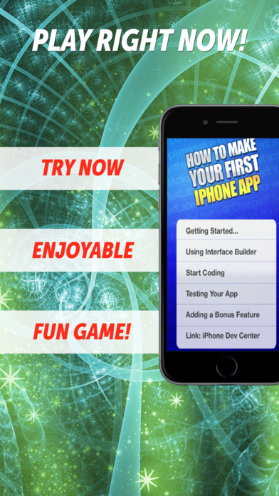 How to Make Your First iPhone App iPhone Screenshot 1