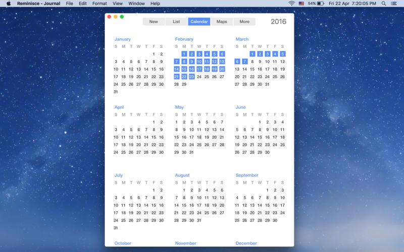 Reminisce - Journal Screenshot - 3