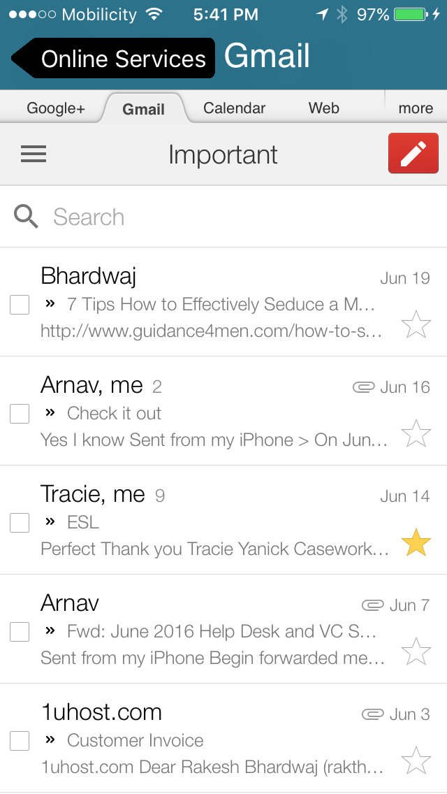 Gmail Email By Google On The App Store Itunes