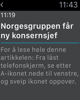 Aftenposten for iPhone iPhone Screenshot 8