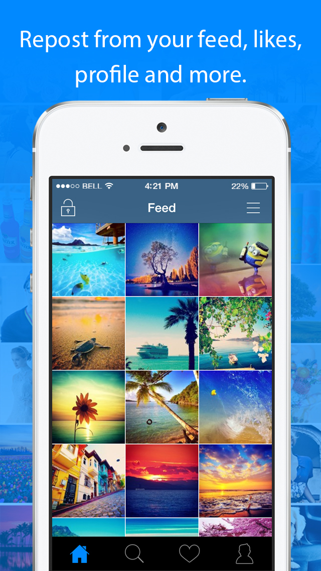 InstaSave for Instagram - Download & Repost your own Videos & Photos for Free app image