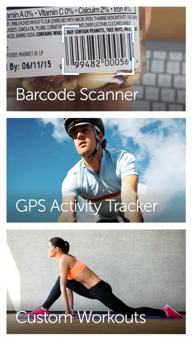 счетчик калорий и шагомер, диеты тренировки Фитнес Screenshot