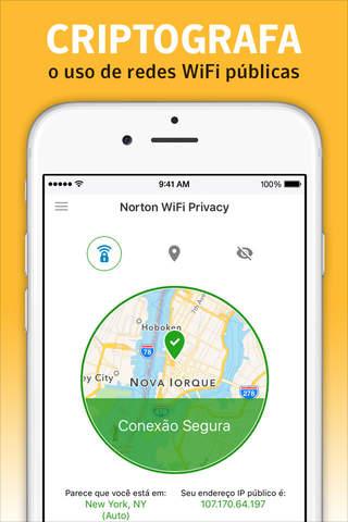 Norton WiFi Privacy VPN screenshot 2