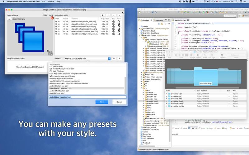 Image Asset Icon Batch Resizer Free Screenshot - 3