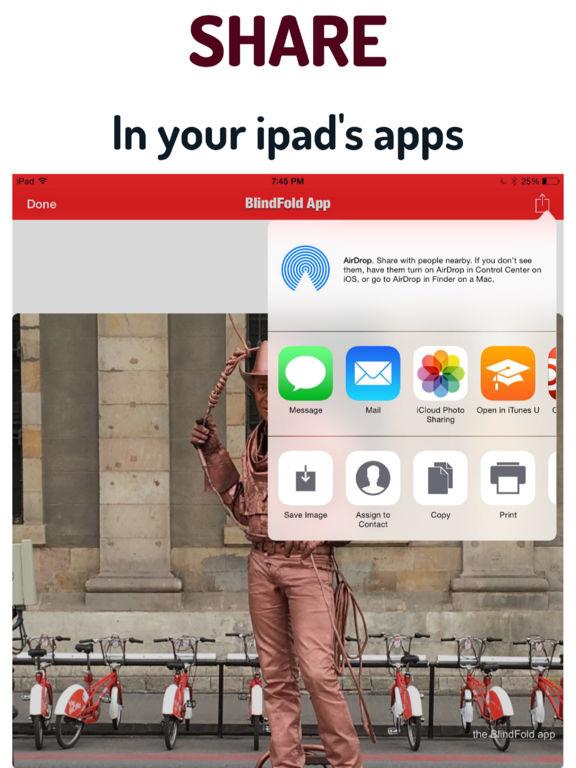 The BlindFold App Screenshots