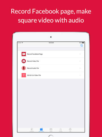 Video Grabby - Video Save & Video Editor Screenshots