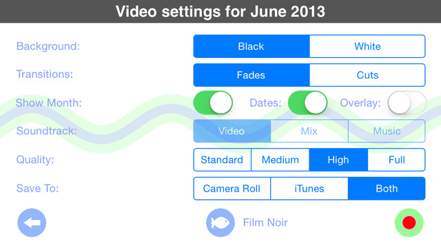 Video a day - Recording your life one day at a time Screenshots